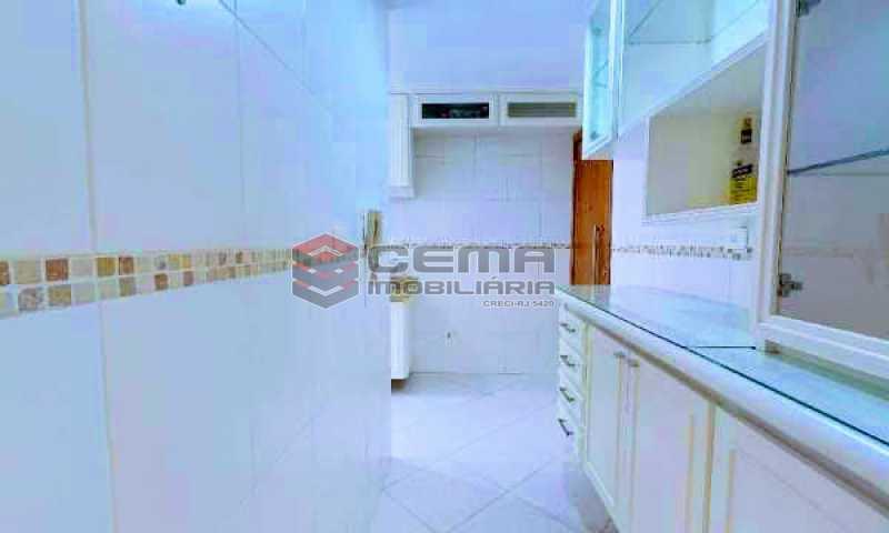 cozinha - Apartamento à venda Rua Marquesa de Santos,Laranjeiras, Zona Sul RJ - R$ 670.000 - LAAP12233 - 18
