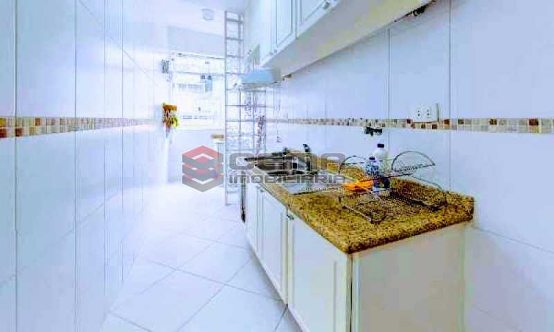 cozinha - Apartamento à venda Rua Marquesa de Santos,Laranjeiras, Zona Sul RJ - R$ 670.000 - LAAP12233 - 19