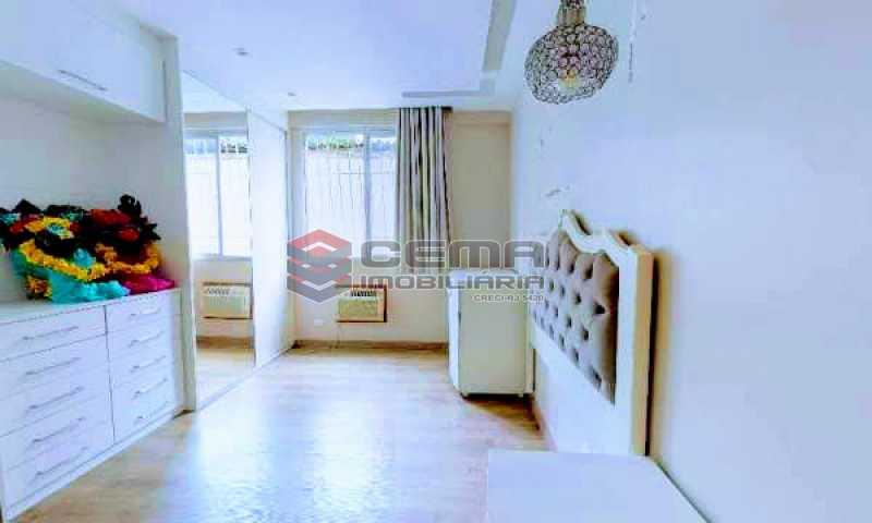 quarto - Apartamento à venda Rua Marquesa de Santos,Laranjeiras, Zona Sul RJ - R$ 670.000 - LAAP12233 - 12