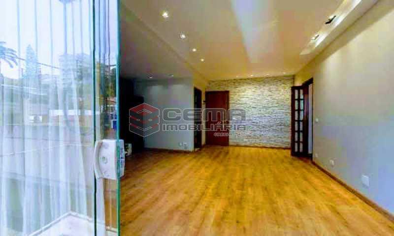 sala - Apartamento à venda Rua Marquesa de Santos,Laranjeiras, Zona Sul RJ - R$ 670.000 - LAAP12233 - 3