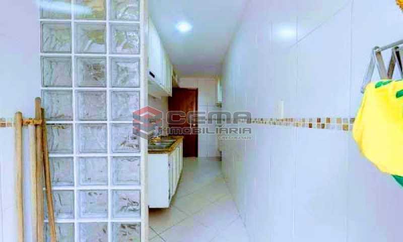 cozinha - Apartamento à venda Rua Marquesa de Santos,Laranjeiras, Zona Sul RJ - R$ 670.000 - LAAP12233 - 20