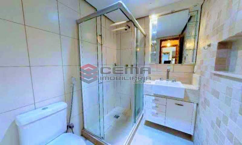 banheiro - Apartamento à venda Rua Marquesa de Santos,Laranjeiras, Zona Sul RJ - R$ 670.000 - LAAP12233 - 6
