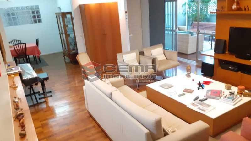 sala - Cobertura à venda Rua das Laranjeiras,Laranjeiras, Zona Sul RJ - R$ 2.350.000 - LACO40118 - 7
