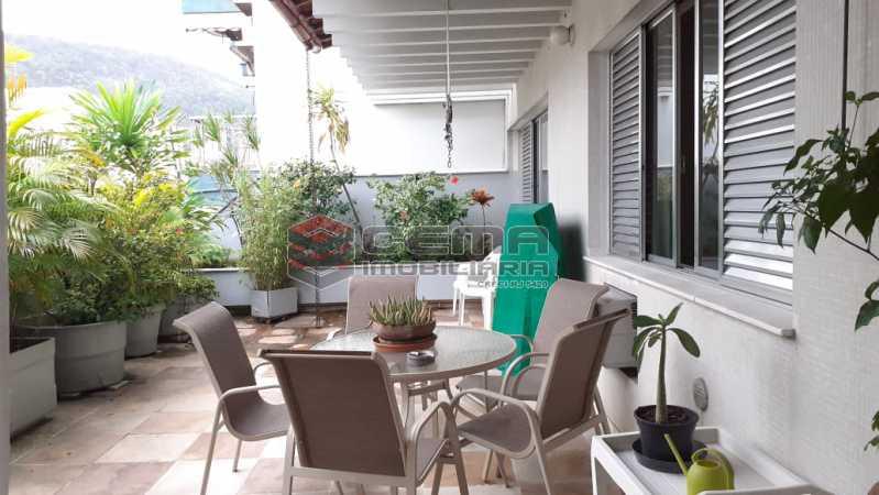 terraço - Cobertura à venda Rua das Laranjeiras,Laranjeiras, Zona Sul RJ - R$ 2.350.000 - LACO40118 - 5