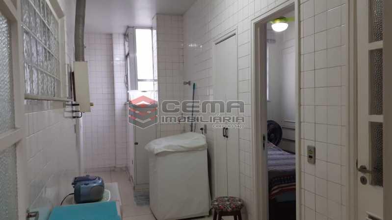 área de serviço - Cobertura à venda Rua das Laranjeiras,Laranjeiras, Zona Sul RJ - R$ 2.350.000 - LACO40118 - 24