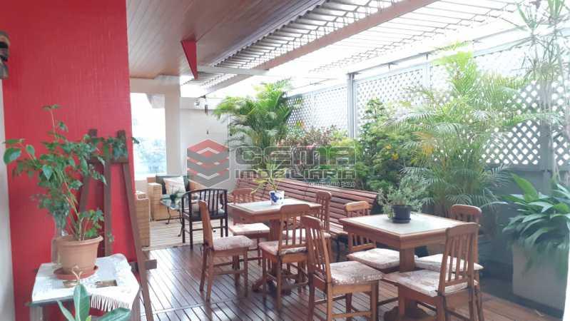 terraço - Cobertura à venda Rua das Laranjeiras,Laranjeiras, Zona Sul RJ - R$ 2.350.000 - LACO40118 - 3