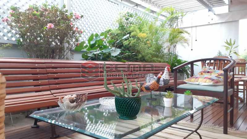 terraço - Cobertura à venda Rua das Laranjeiras,Laranjeiras, Zona Sul RJ - R$ 2.350.000 - LACO40118 - 4