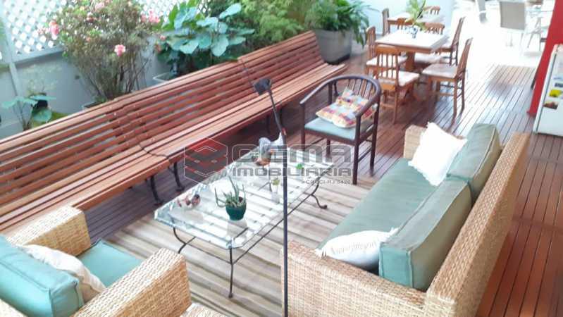 terraço - Cobertura à venda Rua das Laranjeiras,Laranjeiras, Zona Sul RJ - R$ 2.350.000 - LACO40118 - 1