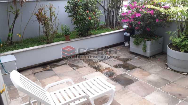 terraço - Cobertura à venda Rua das Laranjeiras,Laranjeiras, Zona Sul RJ - R$ 2.350.000 - LACO40118 - 6