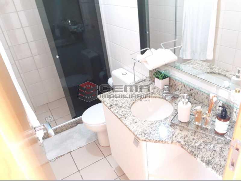 16 - Banheiro 2º piso - Cobertura à venda Rua Barão de Lucena,Botafogo, Zona Sul RJ - R$ 2.100.000 - LACO40119 - 18
