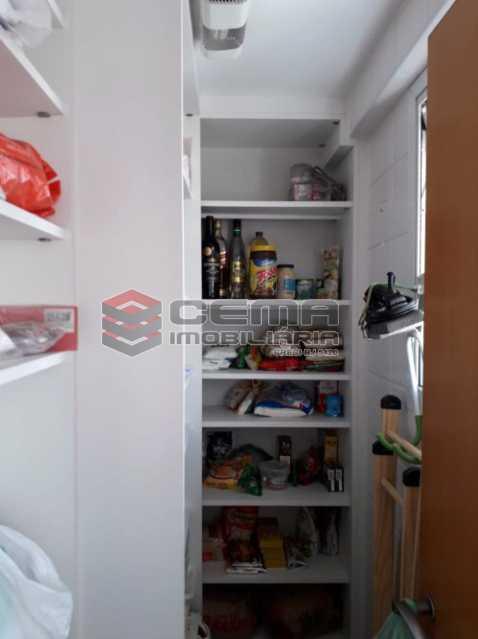 15 - Despensa - Cobertura à venda Rua Barão de Lucena,Botafogo, Zona Sul RJ - R$ 2.100.000 - LACO40119 - 17