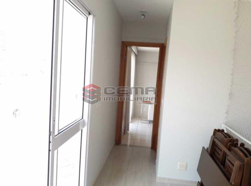 17 - Circulação 2º piso - Cobertura à venda Rua Barão de Lucena,Botafogo, Zona Sul RJ - R$ 2.100.000 - LACO40119 - 19