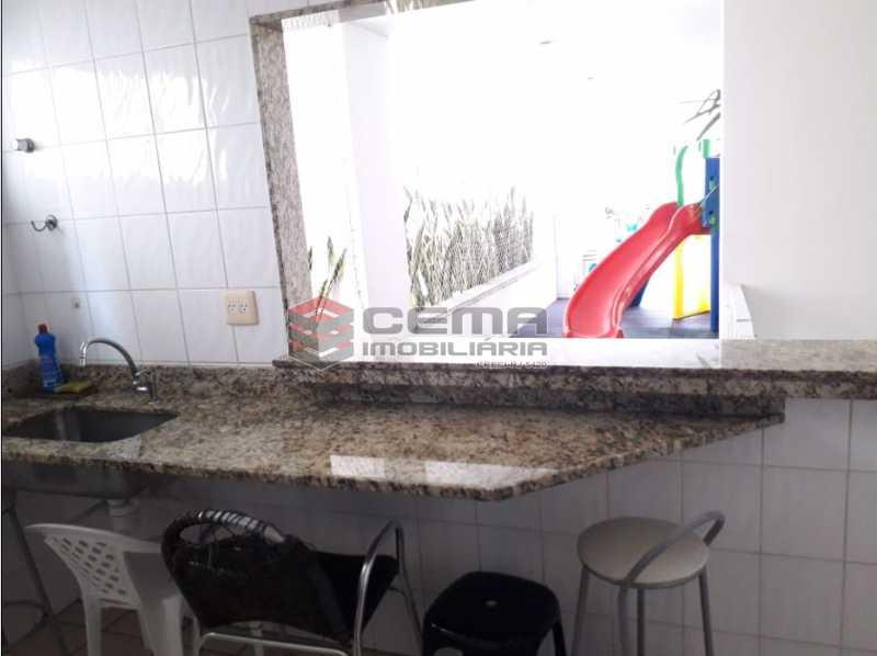 24 - Cozinha do salão - Cobertura à venda Rua Barão de Lucena,Botafogo, Zona Sul RJ - R$ 2.100.000 - LACO40119 - 25