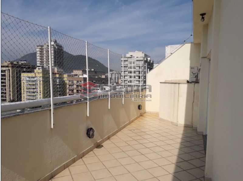 20 -Terraço vista Pão de Açúca - Cobertura à venda Rua Barão de Lucena,Botafogo, Zona Sul RJ - R$ 2.100.000 - LACO40119 - 1