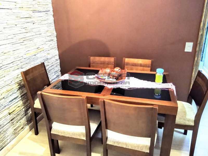 Sala de Jantar. - Apartamento À Venda Rua Arriba,Cacuia, Rio de Janeiro - R$ 498.000 - LAAP33429 - 3