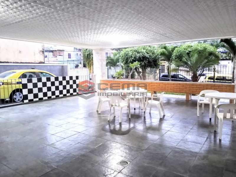 Salão de Festa - Apartamento À Venda Rua Arriba,Cacuia, Rio de Janeiro - R$ 498.000 - LAAP33429 - 23
