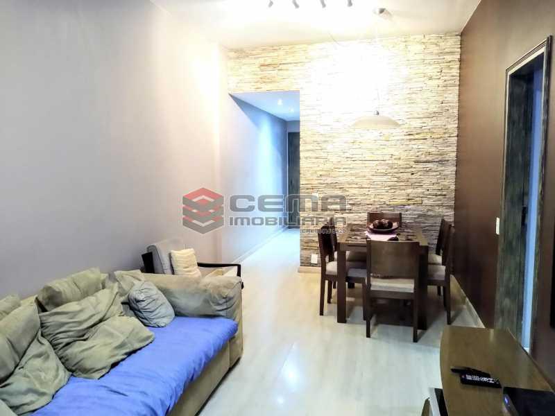 Salão em dois Ambientes - Apartamento À Venda Rua Arriba,Cacuia, Rio de Janeiro - R$ 498.000 - LAAP33429 - 6