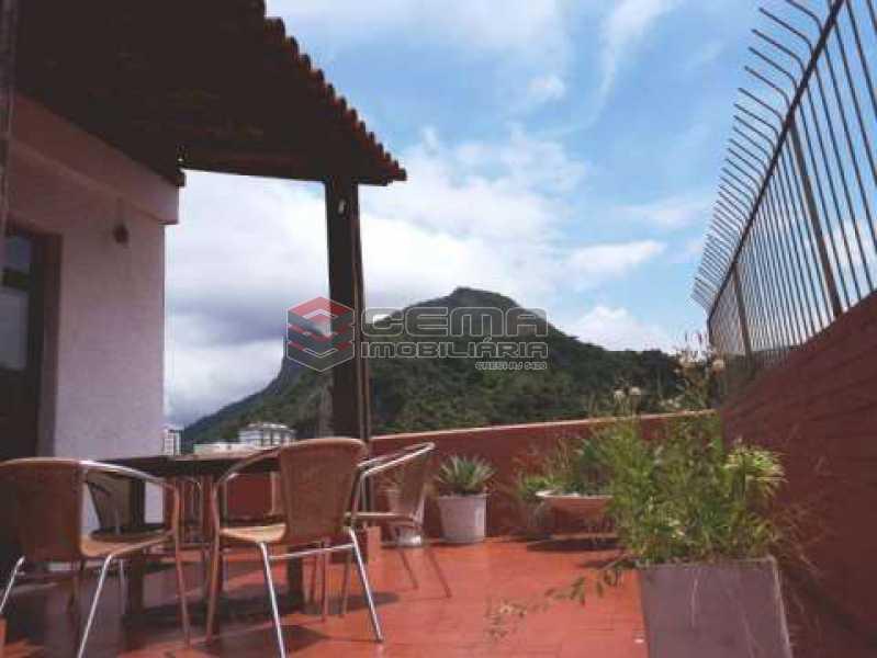 terraço - Cobertura à venda Rua Marquês de Olinda,Botafogo, Zona Sul RJ - R$ 2.100.000 - LACO40120 - 3
