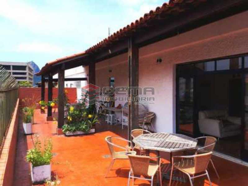 terraço - Cobertura à venda Rua Marquês de Olinda,Botafogo, Zona Sul RJ - R$ 2.100.000 - LACO40120 - 1