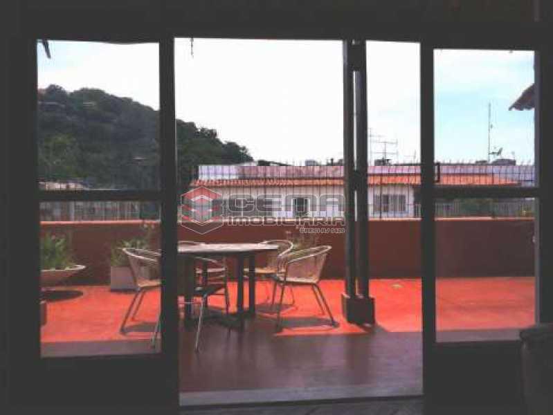 terraço - Cobertura à venda Rua Marquês de Olinda,Botafogo, Zona Sul RJ - R$ 2.100.000 - LACO40120 - 4