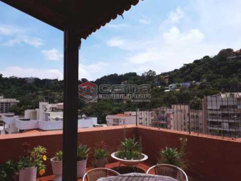 vista - Cobertura à venda Rua Marquês de Olinda,Botafogo, Zona Sul RJ - R$ 2.100.000 - LACO40120 - 6