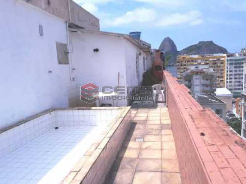 piscina terraço - Cobertura à venda Rua Marquês de Olinda,Botafogo, Zona Sul RJ - R$ 2.100.000 - LACO40120 - 7