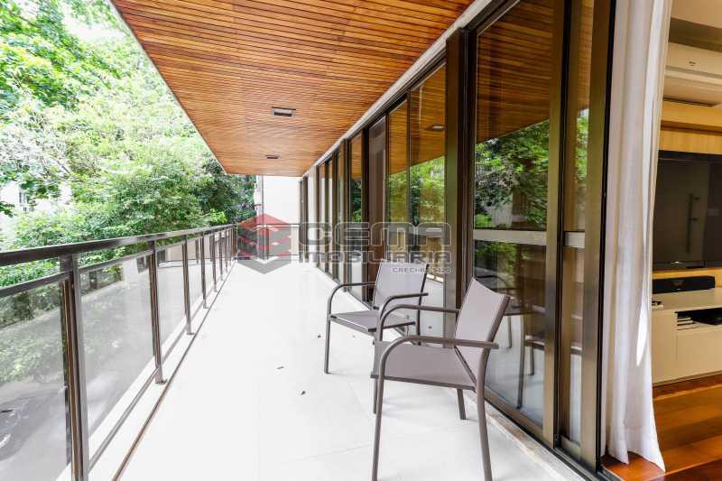 varanda - Apartamento À Venda - Flamengo - Rio de Janeiro - RJ - LAAP33448 - 1