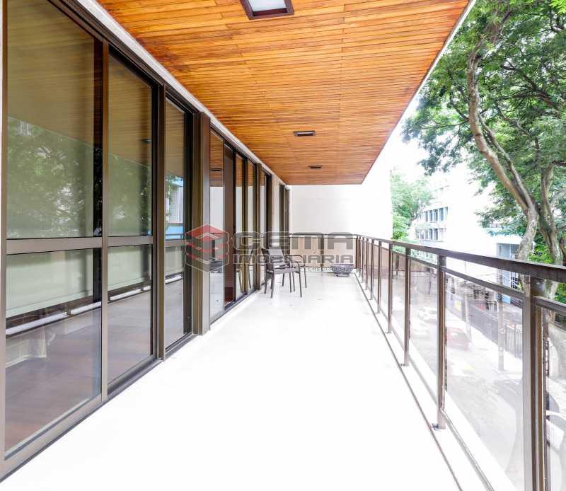 varanda - Apartamento À Venda - Flamengo - Rio de Janeiro - RJ - LAAP33448 - 8