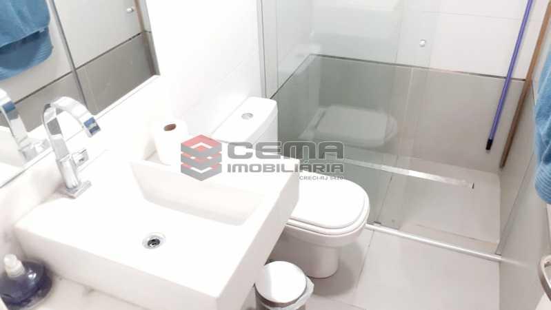 banheiro de empregada - Apartamento À Venda - Flamengo - Rio de Janeiro - RJ - LAAP33448 - 22