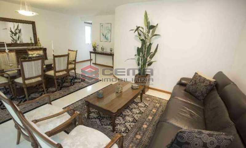sala - Cobertura à venda Rua Marquês de Pinedo,Laranjeiras, Zona Sul RJ - R$ 3.300.000 - LACO50016 - 4