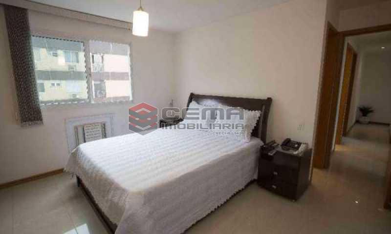 quarto 2 - Cobertura à venda Rua Marquês de Pinedo,Laranjeiras, Zona Sul RJ - R$ 3.300.000 - LACO50016 - 10