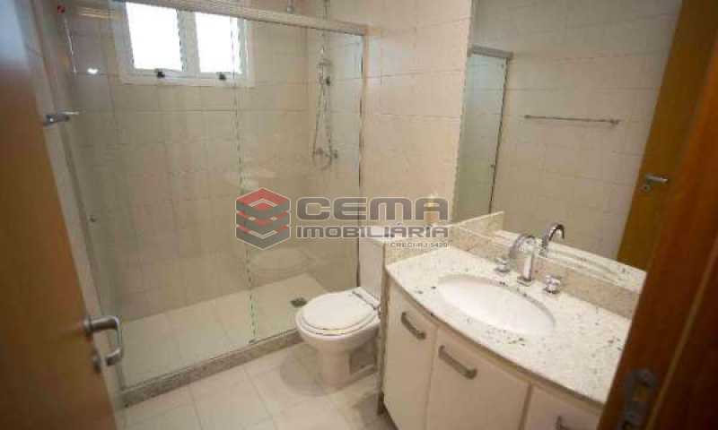 banheiro - Cobertura à venda Rua Marquês de Pinedo,Laranjeiras, Zona Sul RJ - R$ 3.300.000 - LACO50016 - 20
