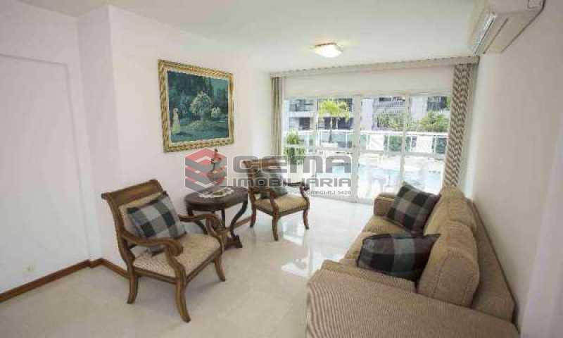 sala 2 - Cobertura à venda Rua Marquês de Pinedo,Laranjeiras, Zona Sul RJ - R$ 3.300.000 - LACO50016 - 19