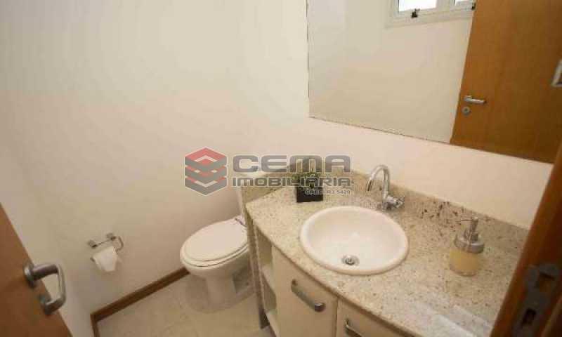 lavabo - Cobertura à venda Rua Marquês de Pinedo,Laranjeiras, Zona Sul RJ - R$ 3.300.000 - LACO50016 - 21