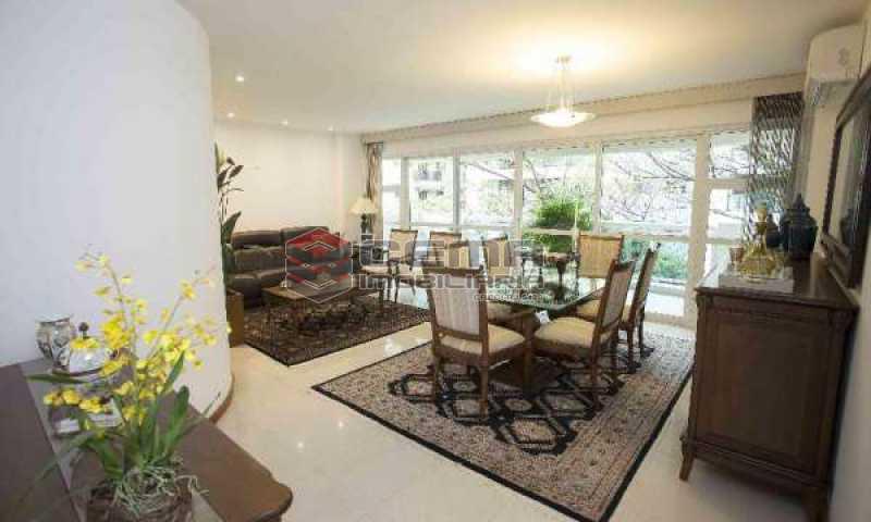 sala - Cobertura à venda Rua Marquês de Pinedo,Laranjeiras, Zona Sul RJ - R$ 3.300.000 - LACO50016 - 5