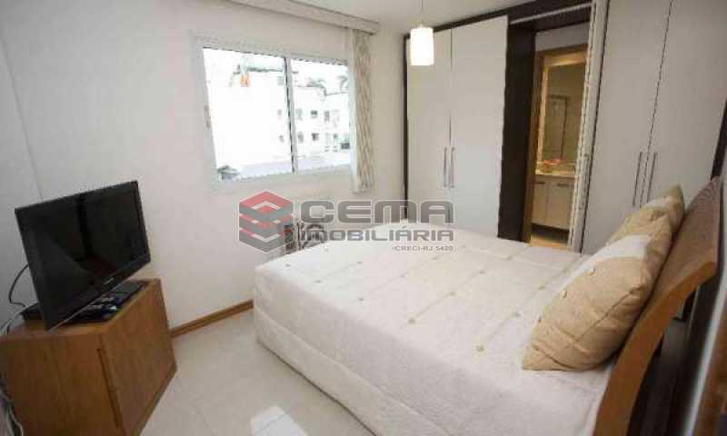 quarto 4 - Cobertura à venda Rua Marquês de Pinedo,Laranjeiras, Zona Sul RJ - R$ 3.300.000 - LACO50016 - 16