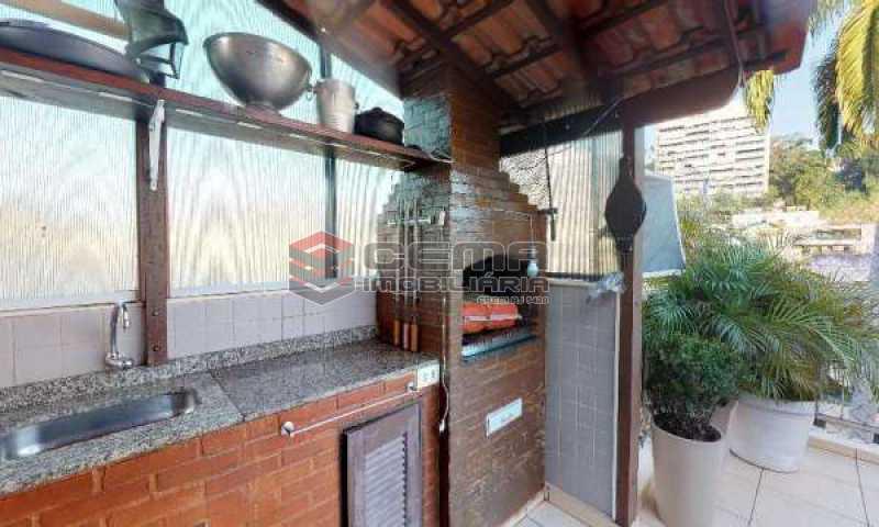 churrasqueira - Cobertura à venda Rua Paissandu,Flamengo, Zona Sul RJ - R$ 3.650.000 - LACO40121 - 6