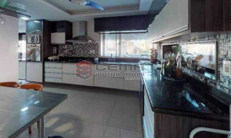 cozinha - Cobertura à venda Rua Paissandu,Flamengo, Zona Sul RJ - R$ 3.650.000 - LACO40121 - 20