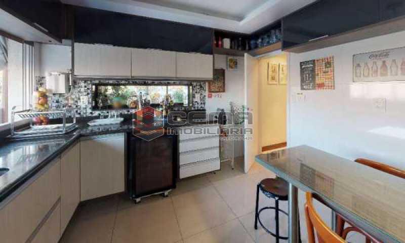 cozinha - Cobertura à venda Rua Paissandu,Flamengo, Zona Sul RJ - R$ 3.650.000 - LACO40121 - 21