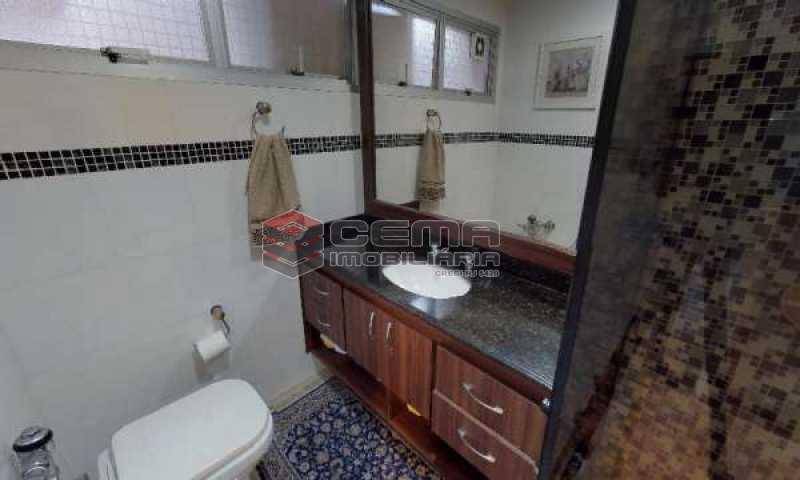 banheiro - Cobertura à venda Rua Paissandu,Flamengo, Zona Sul RJ - R$ 3.650.000 - LACO40121 - 18