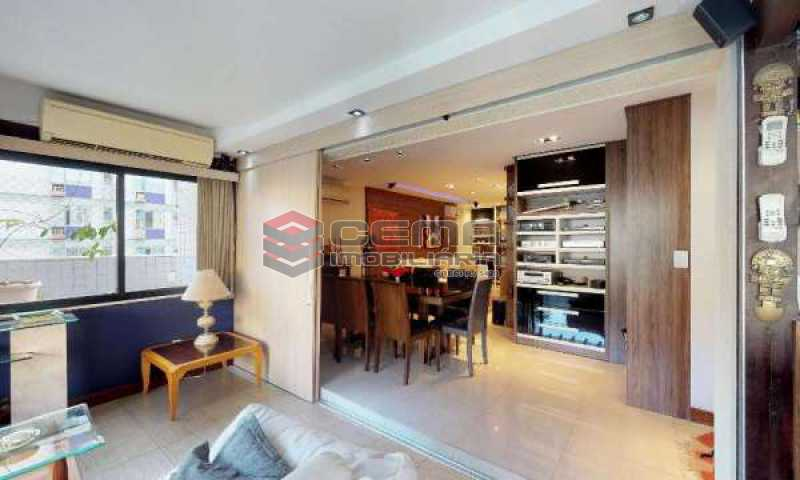 terraço parte coberta - Cobertura à venda Rua Paissandu,Flamengo, Zona Sul RJ - R$ 3.650.000 - LACO40121 - 8