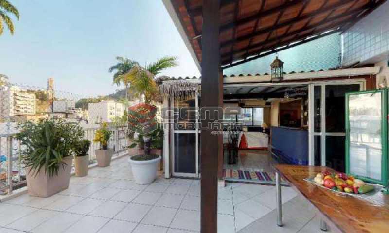 terraço - Cobertura à venda Rua Paissandu,Flamengo, Zona Sul RJ - R$ 3.650.000 - LACO40121 - 3
