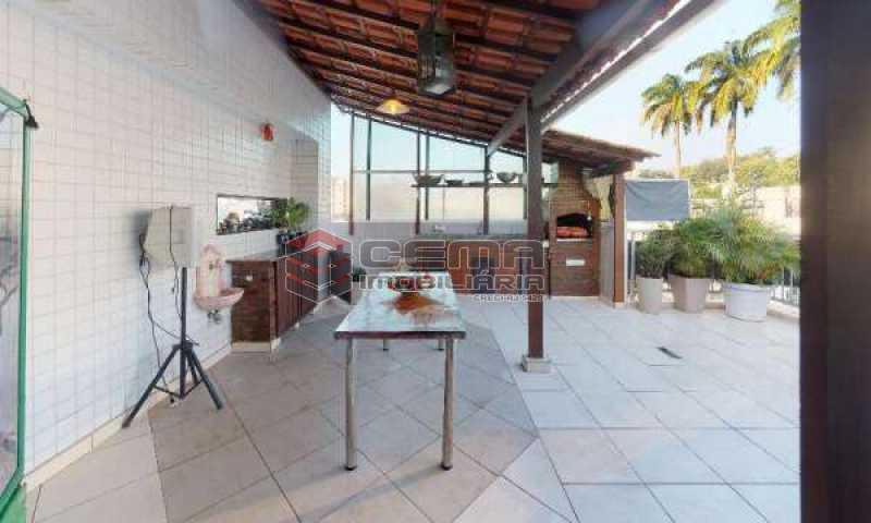 terraço - Cobertura à venda Rua Paissandu,Flamengo, Zona Sul RJ - R$ 3.650.000 - LACO40121 - 1
