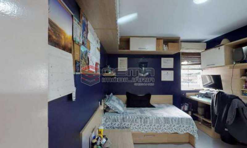 quarto 2 - Cobertura à venda Rua Paissandu,Flamengo, Zona Sul RJ - R$ 3.650.000 - LACO40121 - 16