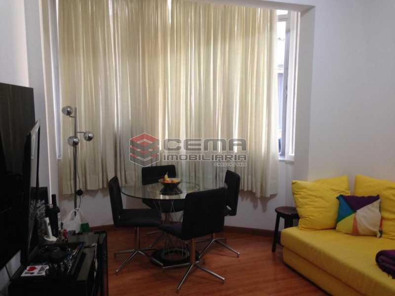 1 - Apartamento à venda Rua Dois de Dezembro,Flamengo, Zona Sul RJ - R$ 475.000 - LAAP12297 - 1