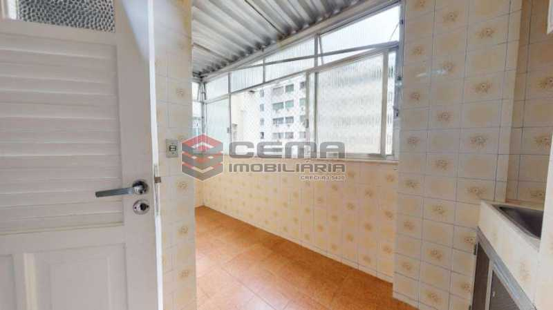 área de serviço - Apartamento à venda Rua Marquês de Abrantes,Flamengo, Zona Sul RJ - R$ 695.000 - LAAP24111 - 24