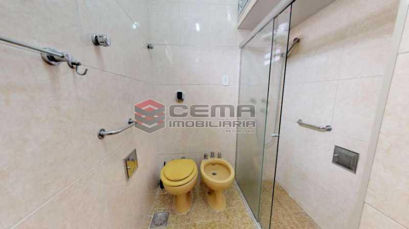 banheiro - Apartamento à venda Rua Marquês de Abrantes,Flamengo, Zona Sul RJ - R$ 695.000 - LAAP24111 - 20