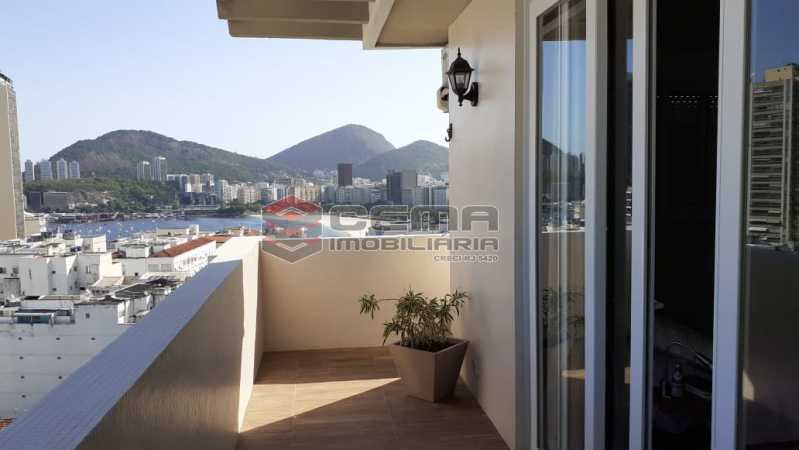 varanda - Cobertura À Venda - Flamengo - Rio de Janeiro - RJ - LACO30256 - 4