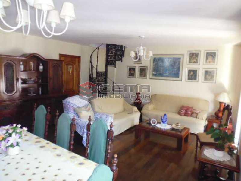 391a2eb7f8f6387ab4dafa39a12893 - Cobertura 3 quartos à venda Botafogo, Zona Sul RJ - R$ 1.700.000 - LACO30254 - 1