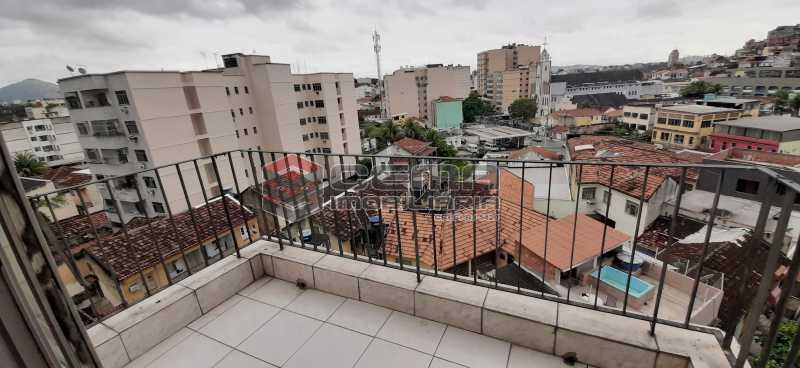 varanda quarto 2 - Apartamento 2 quartos à venda Méier, Zona Norte RJ - R$ 169.000 - LAAP24123 - 3